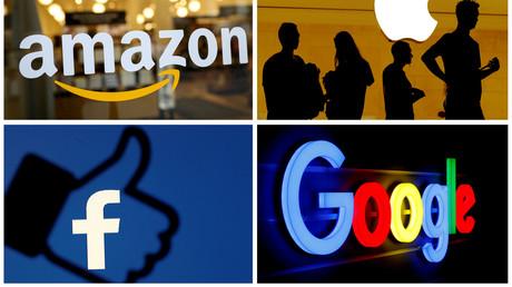 Les géants américains du web sont dans le collimateur de la France (image d'illustration).