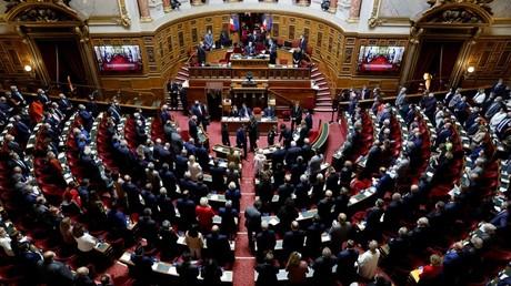 Le sénat français le premier novembre (image d'illustration).