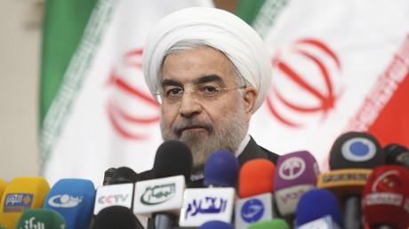 Le président iranien Hassan Rohani lors d'une conférence de presse à Téhéran, le 17juin 2013 (image d'illustration).
