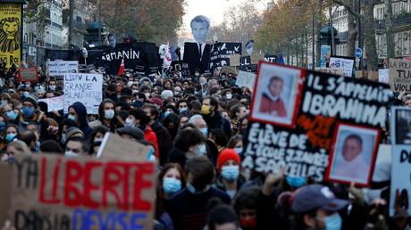 La mobilisation était forte à Paris le 28 novembre.