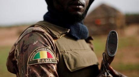 Soldat malien en 2019 (image d'illustration).