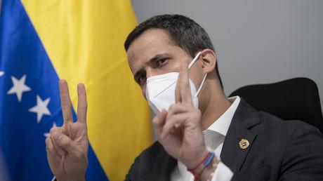 L'opposant à Nicolas Maduro, Juan Guaido, interviewé par l'AFP le 30 novembre à Caracas.