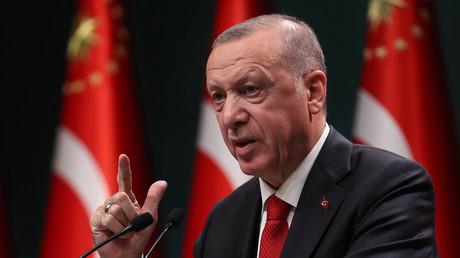Le président turc Recep Erdogan.