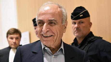 Ziad Takieddine à la sortie du tribunal en France en octobre 2019 (image d'illustration).