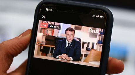 Emmanuel Macron était interviewé sur la plateforme Brut le 4 décembre 2020.