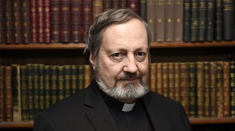 Le père Pascal Gollnisch, directeur général de l'association Œuvre d'Orient