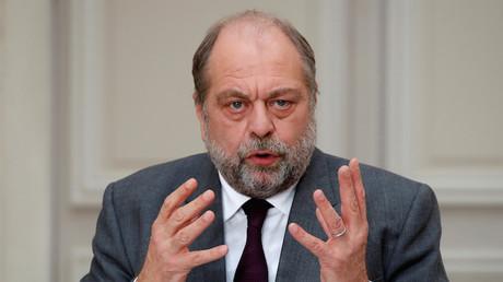 Le ministre de la Justice Eric Dupond-Moretti le 9 décembre 2020 au Palais de l'Elysée à Paris.