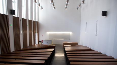 Un amphithéâtre de l'université Aix-Marseille. (Image d'illustration)