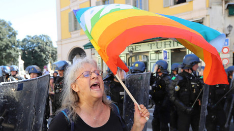 Geneviève Legay, militante d'Attac blessée à Nice le 23 mars 2019 (image d'illustration).