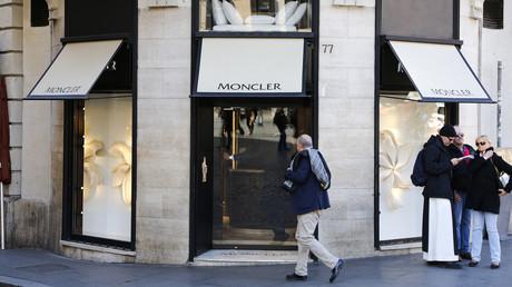 Un magasin Moncler à Rome, le 10février 2016 (image d'illustration).