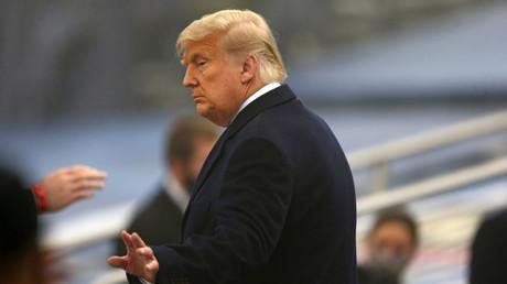 Donald Trump, le 12 décembre 2020 à New York (Etats-Unis) (image d'illustration).
