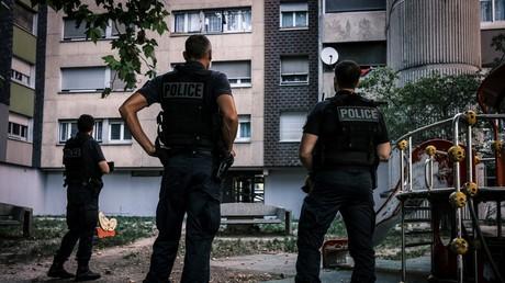 Des policiers de la BST à Grenoble dans le quartier sensible du Mistral, le 4 septembre 2020 (image d'illustration).
