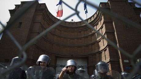 L'ambassade de France à Téhéran, le 28 juin 2010, en Iran (image d'illustration).
