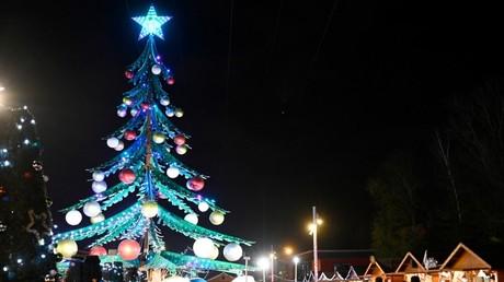 Cliché pris lors d'un marché de Noël à Amnéville-les-Thermes, le 10 décembre 2020, en Moselle (image d'illustration).