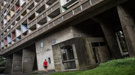 La «Cité radieuse» le 1er mai 2020 à Rezé, ville de la banlieue de Nantes où l'homme a été passé à tabac (image d'illustration).