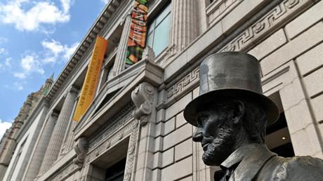 Statue de Lincoln à New York en 2020 (image d'illustration).