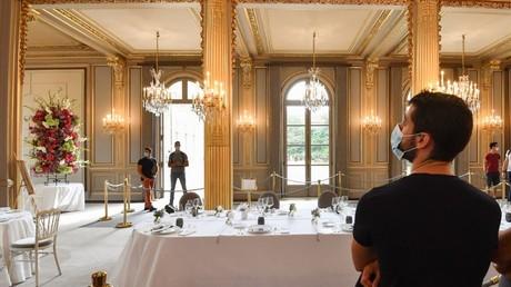 La Salle des fêtes de l'Elysée durant la Journées européennes du Patrimoine, le 19 septembre 2020 (image d'illustration)
