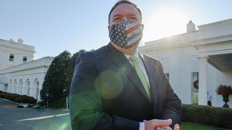 Le secrétaire d'Etat américain Mike Pompeo à Washington (Etats-Unis), le 11décembre 2020.