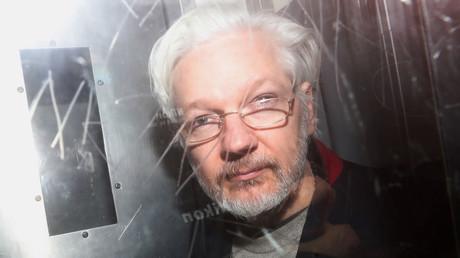 Julian Assange au Westminster Magistrates Court à Londres (Royaume-Uni), le 13janvier 2020 (image d'illustration).