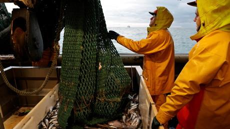 Des pêcheurs français dans la Mer du Nord le 7 décembre 2020 (image d'illustration).