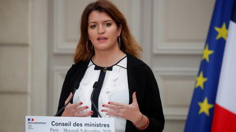 Marlène Schiappa le 9 décembre 2020 à Paris (image d'illustration).