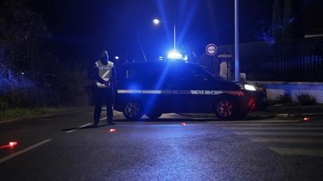 Un véhicule de gendarmerie le 7 décembre 2020 à Domont (Val d'Oise) (image d'illustration).