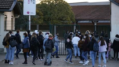 Le collège Bois d'Aulne à Conflans-Sainte-Honorine (Yvelines) le 3 novembre 2020 (image d'illustration).