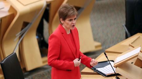 Le Premier ministre écossais, Nicola Sturgeon, le 22 décembre à Edimbourg (image d'illustration).