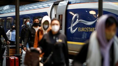 Passagers de retour de Londres à la gare du Nord, le 23décembre 2020 (image d'illustration).