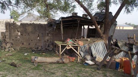 Lors d'une attaque de Boko Haram à Maiduguri (Nigéria), le 27avril 2018 (image d'illustration).