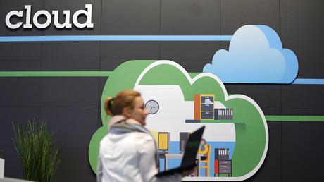 Image représentant la technologie du Cloud à Hanovre, en Allemagne (image d'illustration).