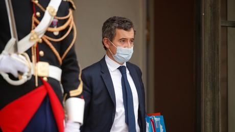 Le ministre de l'Intérieur Gérald Darmanin, fin novembre 2020 à l'Elysée.