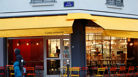 Le restaurant le Petit Cambodge,  20 Rue Alibert à Paris. (Image d'illustration)