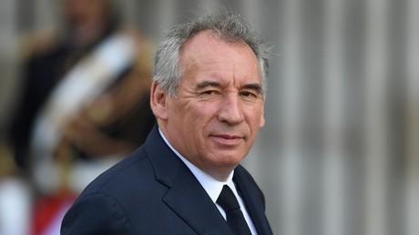 Le Haut-commissaire au Plan, François Bayrou.