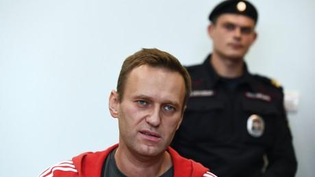 Alexeï Navalny, août 2019