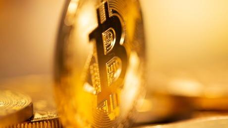 Une représentation de la cryptomonnaie Bitcoin (image d'illustration).