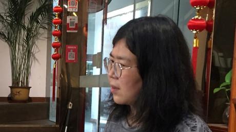 La «journaliste citoyenne» Zhang Zhan