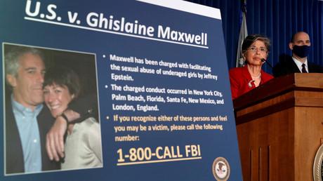 Audrey Strauss, procureur des États-Unis par intérim pour le district sud de New York, annonce les charges retenues contre Ghislaine Maxwell à New York, le 2 juillet 2020 (image d'illustration).