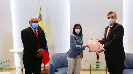 Le Venezuela signe un accord avec la Russie pour l'achat de son vaccin Spoutnik V