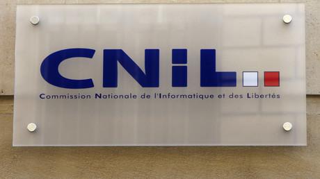 Le panneau de la CNIL photographié en 2008 à Paris (image d'illustration).