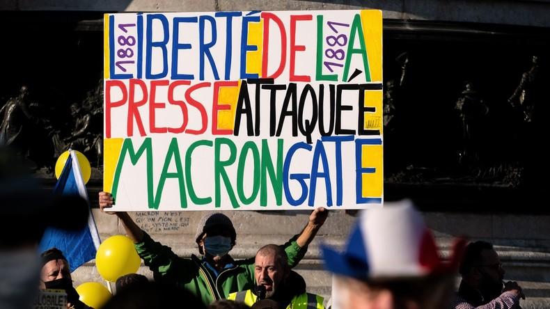 Rassemblements prévus dans toute la France pour les libertés et contre la loi «Sécuritéglobale»