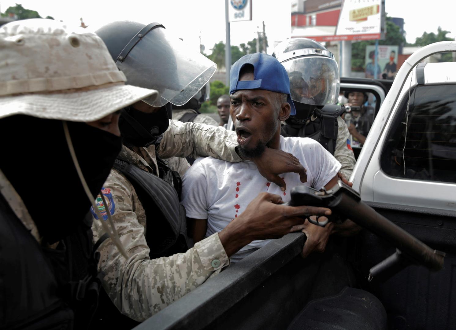 Etat d'urgence décrété en Haïti face aux manifestations réclamant le départ du président Moïse