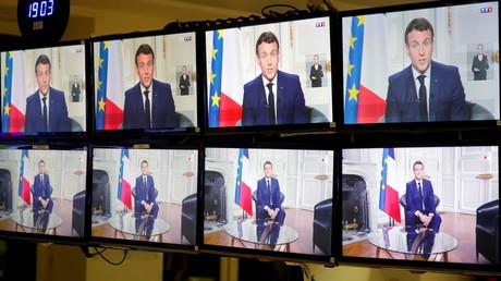 Allocution de fin d'année d'Emmanuel Macron (image d'illustration).