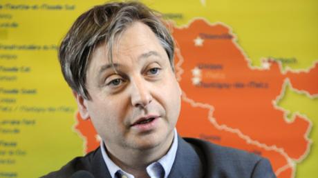 François Grosdidier à Woippy, en Moselle, le 2 mars 2011 (image d'illustration).