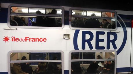 Une femme a été agressée dans un train de la ligne du RER A (image d'illustration).