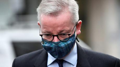 Michael Gove, ministre du gouvernement britannique, le 9 novembre 2020 (image d'illustration).