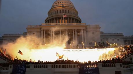 Le Capitole américain occupé par des partisans de Donald Trump