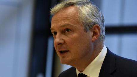 Le ministre de l'Economie et des Finances Bruno Le Maire.