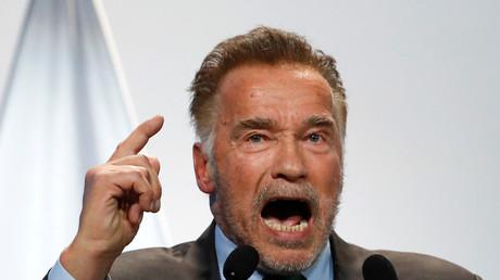 Le gouverneur de la Californie, Arnold Schwarzenegger.