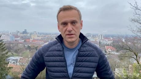 Alexeï Navalny s'exprime dans une vidéo publiée sur Instagram, le 13 janvier 2021.